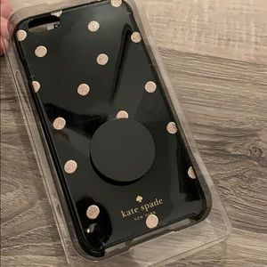 iPhone 6+ Kate Spade Case ♠️ with Pop socket